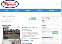 properties for lease by the Bryant Company